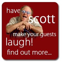 "Scott Novotny has appeared at events and on television nationwide.  Some examples include: ""MTV's Half Hour Comedy Hour"", ""Comedy on the Road, ""Show Me the Funny"", ""America's Funniest People"", ""Stand-Up, Stand-Up"", ""Short Attention Span Theatre"" ""Now That's Funny!"".   And, Scott has opened for Weird Al Yankowic, Smothers Brothers, Jay Leno, Penn and Teller, Pee Wee Herman, Wynonna, REO Speedwagon, Tonic-Sol-Fa, B.B King, Davy Jones of the Monkees, Gary Puckett, Brenda Lee, Humble Pie, Morey Amsterdam, and Jerry Mathers (""the Beaver"")."